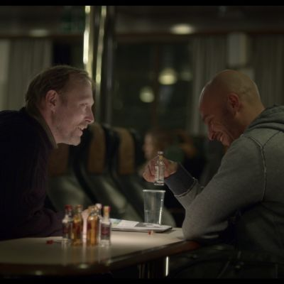 Näyttelijät Lars Mikkelsen, Dar Salim