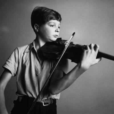 Nuori viulutaiteilija Heimo Haitto 1939