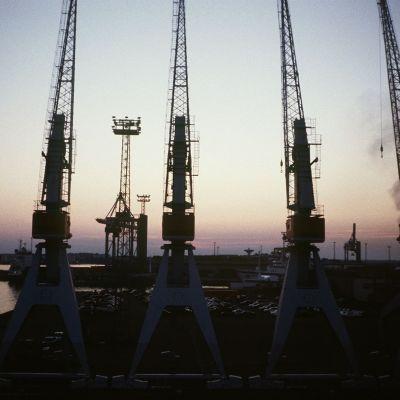 Västra hamnen i Helsingfors 1996