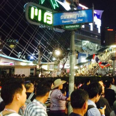 Bangkokin mielenosoitukset 21.1./lukijakuva
