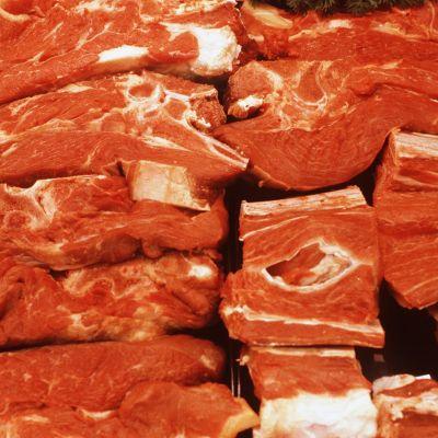 Lihaa tiskissä
