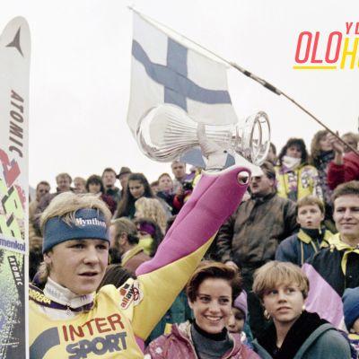 Toni Nieminen Keski-Euroopan mäkiviikolla vuonna 1992.
