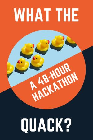 What the Quacks logo.