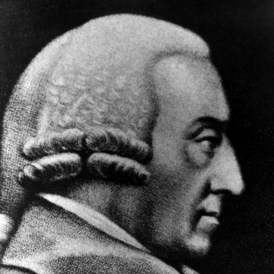 Moraalifisofi ja talousteoreetikko Adam Smith