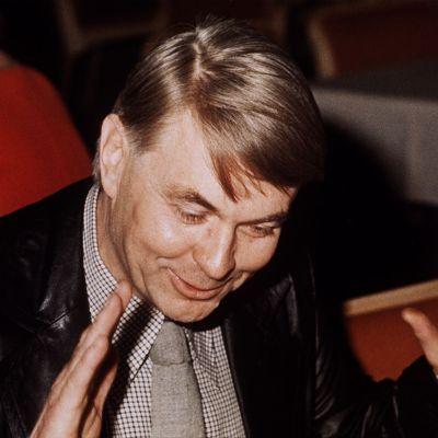 Kirjailija Paavo Rintala
