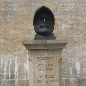 staty av Francisco de Orellana