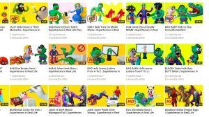Videomaterial på Youtube störande.