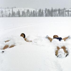 Änglar i snön, Baden im Schnee, Kuora, 2006