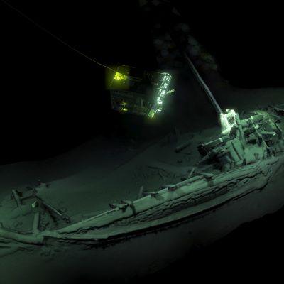 3D-kuva aluksesta.