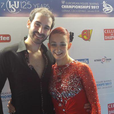 Zoe Jones ja Christopher Boyadji.