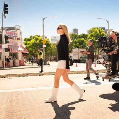 Kuvauksissa Margot Robbie.