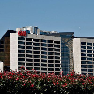 Uutiskanava CNN:n rakennus Atlannassa.