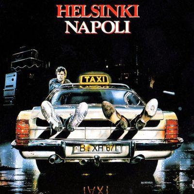 Elokuvan Helsinki Napoli all night long mainosjuliste