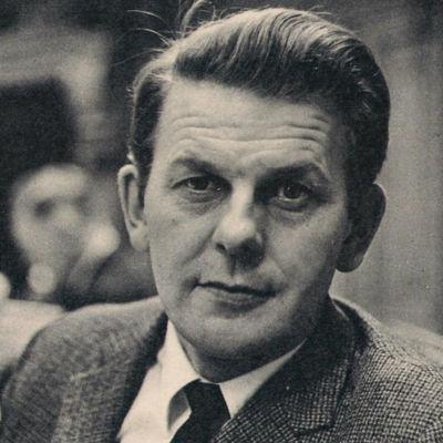 Svartvit bild på Thorbjörn Fälldin år 1967.