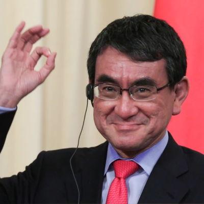 Japans utrikesminister Taro Kono.