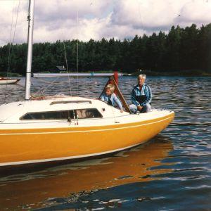 Ilmari Saarelaisen nuoruuden kesät vietettiin merellä.