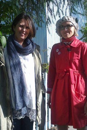 Marianna Stolbow ja Marjut Tervola