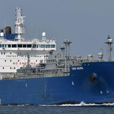 Fraktfartyget Yara Nauma.