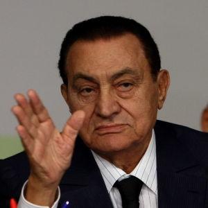 Egyptens president Hosni Mubarak