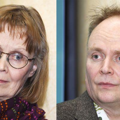 Arja Pikkupeura ja Kari Koski