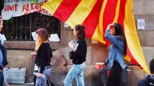 Katalonien röstar om självständighet.