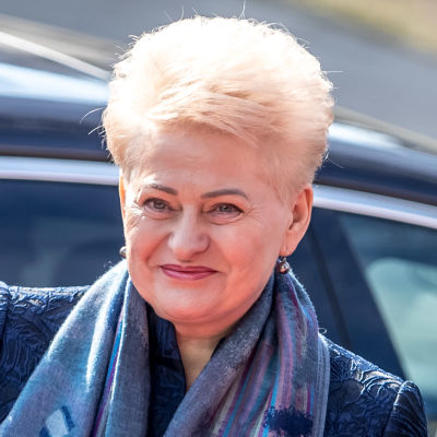 Litauens president Dalia Grybauskaitė.