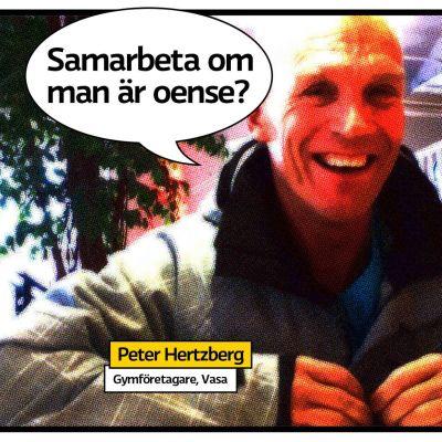 Gymföretagare Peter Hertzberg i Vasa.