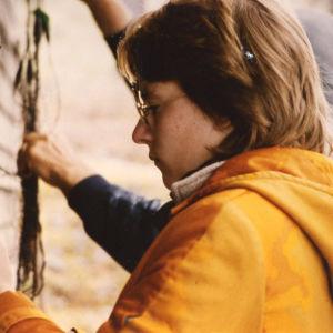 Kirjailija Paula Havaste viihtyi opiskeluvuosinaan lapsuudenmökillä Lapissa.