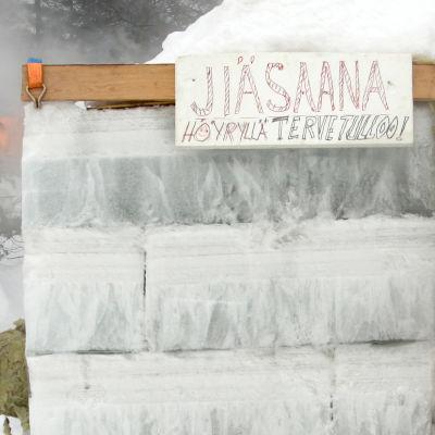 Jääsauna Juuassa (2009).