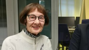 Collage gjort av porträtt av Ulla-Maj Salin och Samuel Broman.
