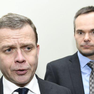 Petteri Orpo ja Kai Mykkänen.