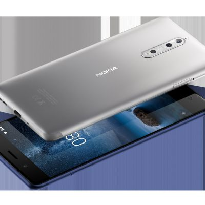 Smarttelefonen Nokia 8.