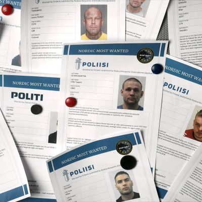 Poliisien FAST-yksiköiden julkaisemia listoja henkilöistä joita epäillään törkeistä rikoksista.