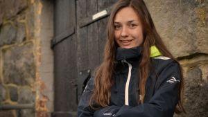 Felicia Wasström spelar fotboll i U16-landslaget.
