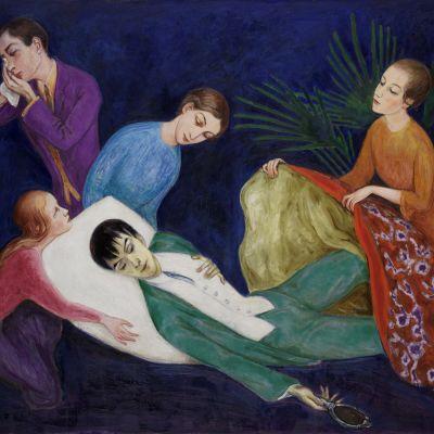 Nils Dardel (1888–1943) Den döende dandyn