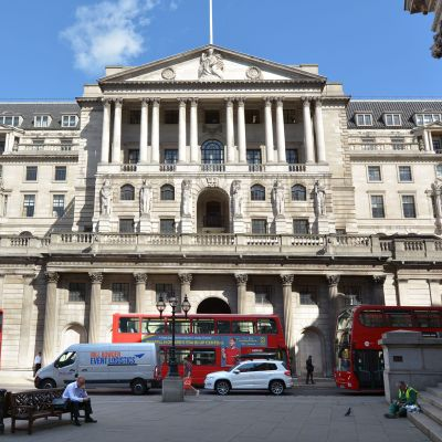 Bank of England Lontoo.