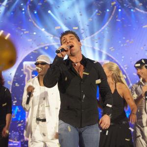 Norjalainen Geir Rönning edusti Suomea euroviisuissa vuonna 2005