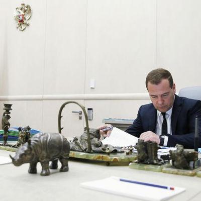 Rysslands premiärminister Dmitrij Medvedev.