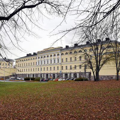 Ulkoministeriön Merikasarmin rakennus Helsingissä