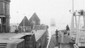m/s Norrö på en kanal, 1961