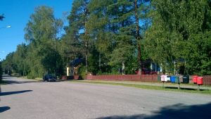 Centrum av Svartå.