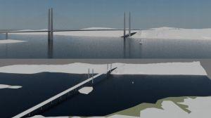 västra dragningen: planerna för rävsundsbron