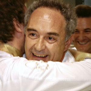 El Bullin viimeinen illallinen. Kuvassa Ferran Adrià.