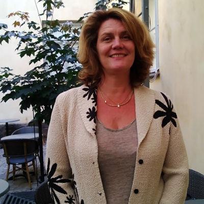 Veronica Hertzberg, styrelseordförande för Kårkulla samkommun.
