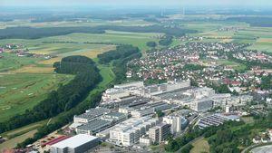 Företaget Schaeffler i Herzogenaurach