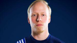 Ken Sirenius vid handbollsförbundet.