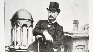 porträtt av samlaren, mecenaten och donatorn H.F.Antell