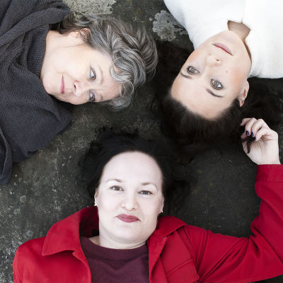 Skådespelarna i pjäsen om Edith Södergran