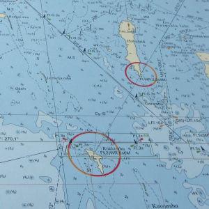 Merikortti eli kartta jonka mukaan navigoidaan