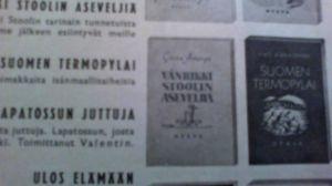 Iivo Härkösen kirja Suomen Thremopylai